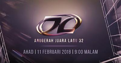 Keputusan Pemenang AJL 32 Anugerah Juara Lagu 2018