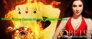 Situs Judi Live Casino Online Terbesar Se-Asia