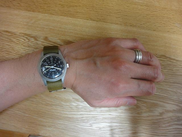 430680ea51 細腕男の腕時計コレクション: ハミルトン ミリタリーウォッチ カーキ 手巻き
