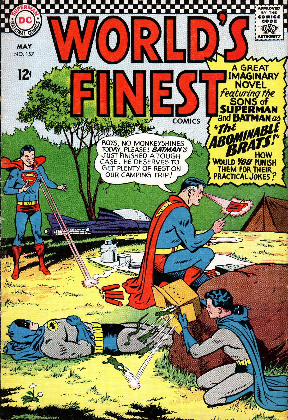 Read online World's Finest Comics comic -  Issue #157 - 1