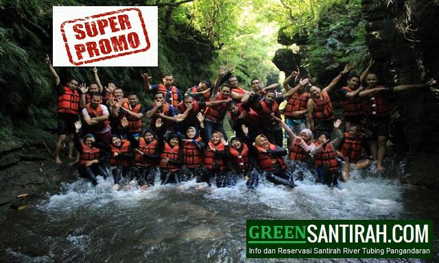 Paket Promo Santirah River Tubing