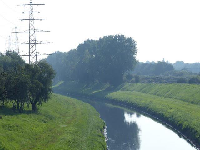 Emscher Landschaftspark Ruhrgebiet Ruhrpott Ausflug Oberhausen Haus Ripshorst Brücke Emscher