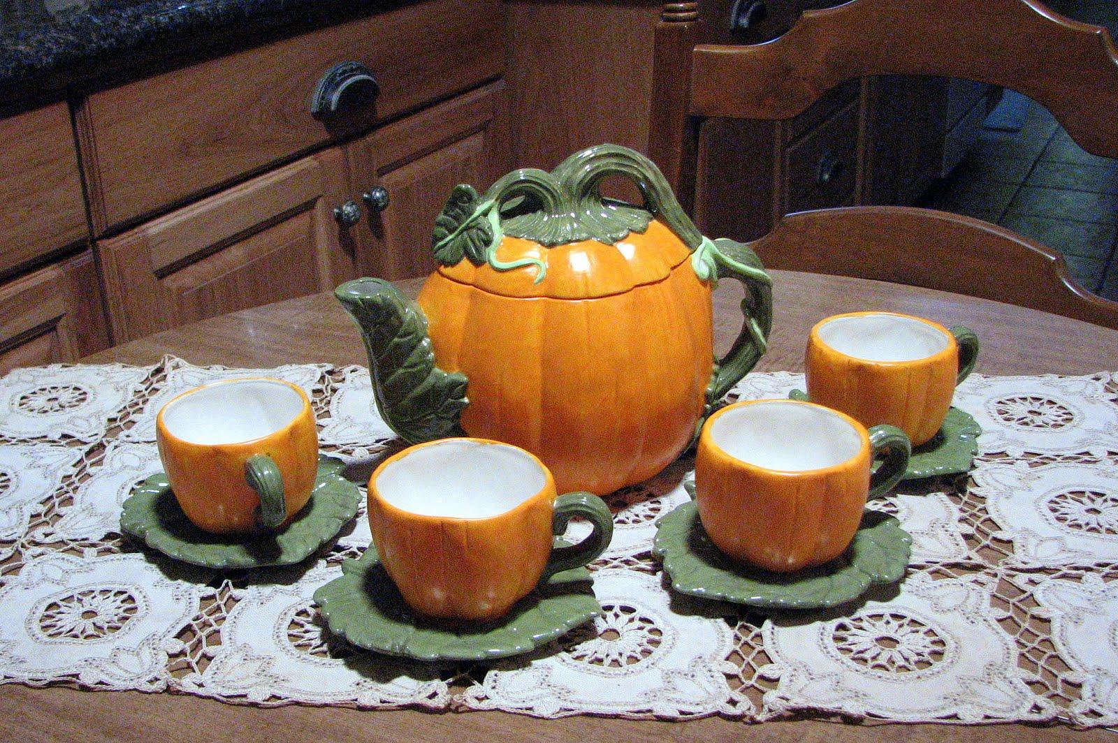 Ceramic Pumpkin Home Decor