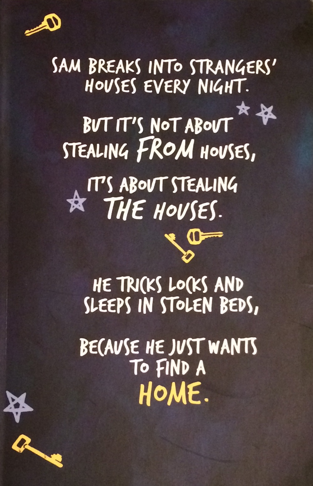 The Boy Who Steals Houses by C. G. Drews Proof