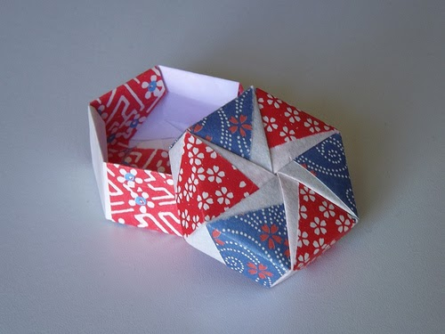 fuse box lid origami maniacs tomoko    fuse     s origami hexagonal    box    by  origami maniacs tomoko    fuse     s origami hexagonal    box    by