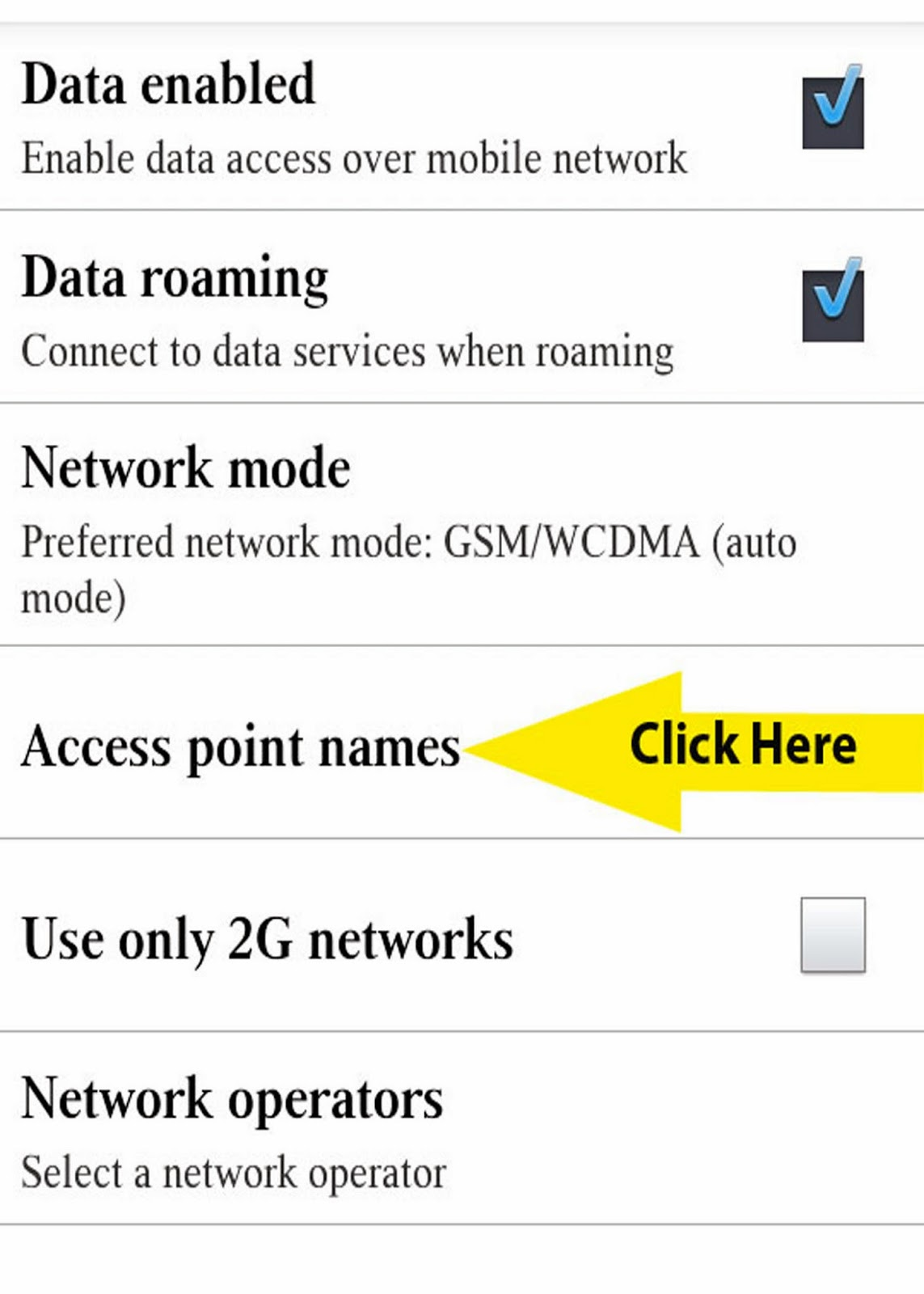 Cellular Mods: MetroPcs Gsm Apn Settings For Byod Or Iphone 5