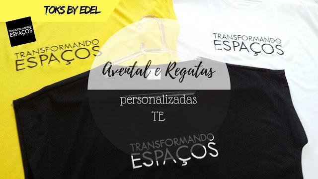Avental e Regatas do blog Transformando Espaços