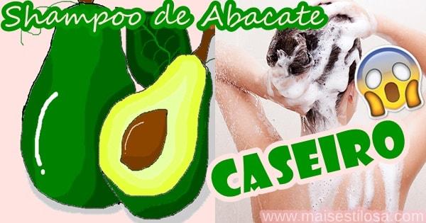 shampoo de abacate caseiro