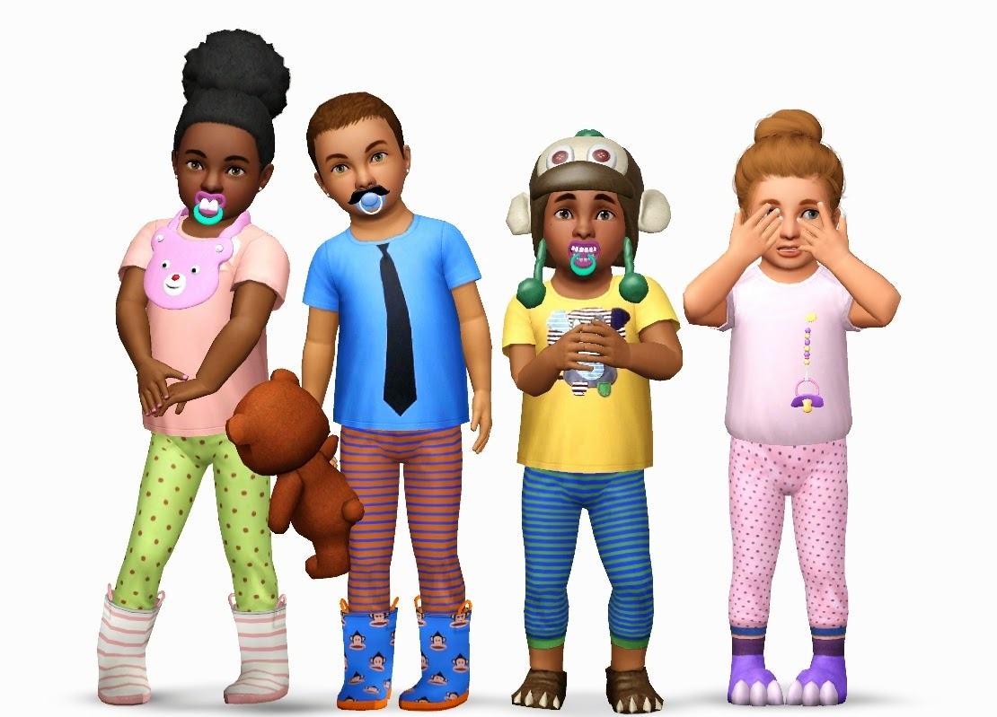 My Sims 3 Blog Toddler Accessories By Yosimsima
