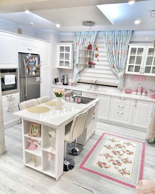 Cara Mudah Mendekorasi Dapur Kecil Rumah Shabby Chic