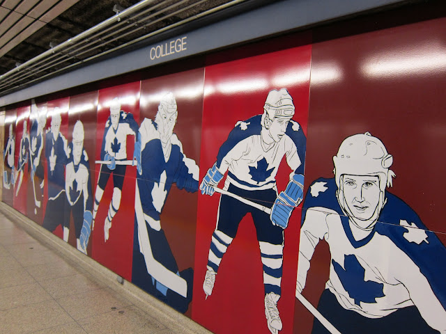 Charles Pachter's Hockey Knights in Canada