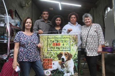 Vereador de Sete Barras Claudemir José Marques e protetores visitaram o GPA e iniciam articulação para formar ONG