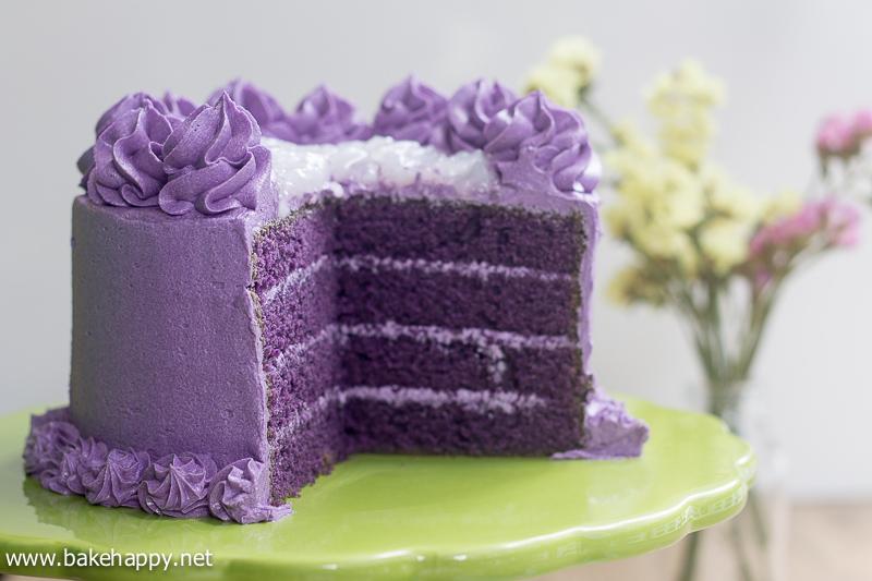 Ube Flavor Cake Recipe