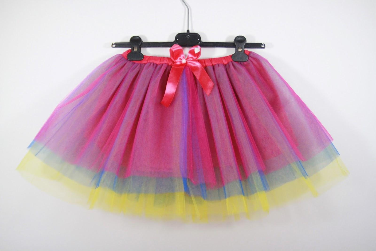 Szyjemy! Tiulowe spódniczki dziecięce | Moda | zBLOGowani