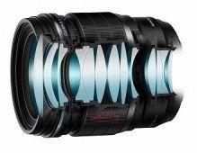 Оптическая схема объектива Olympus 45mm f/1.2 Pro