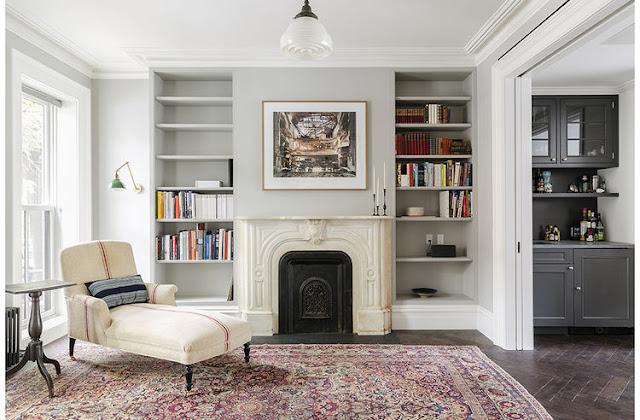 chaise longue tapizada con tela de arpillera chicanddeco