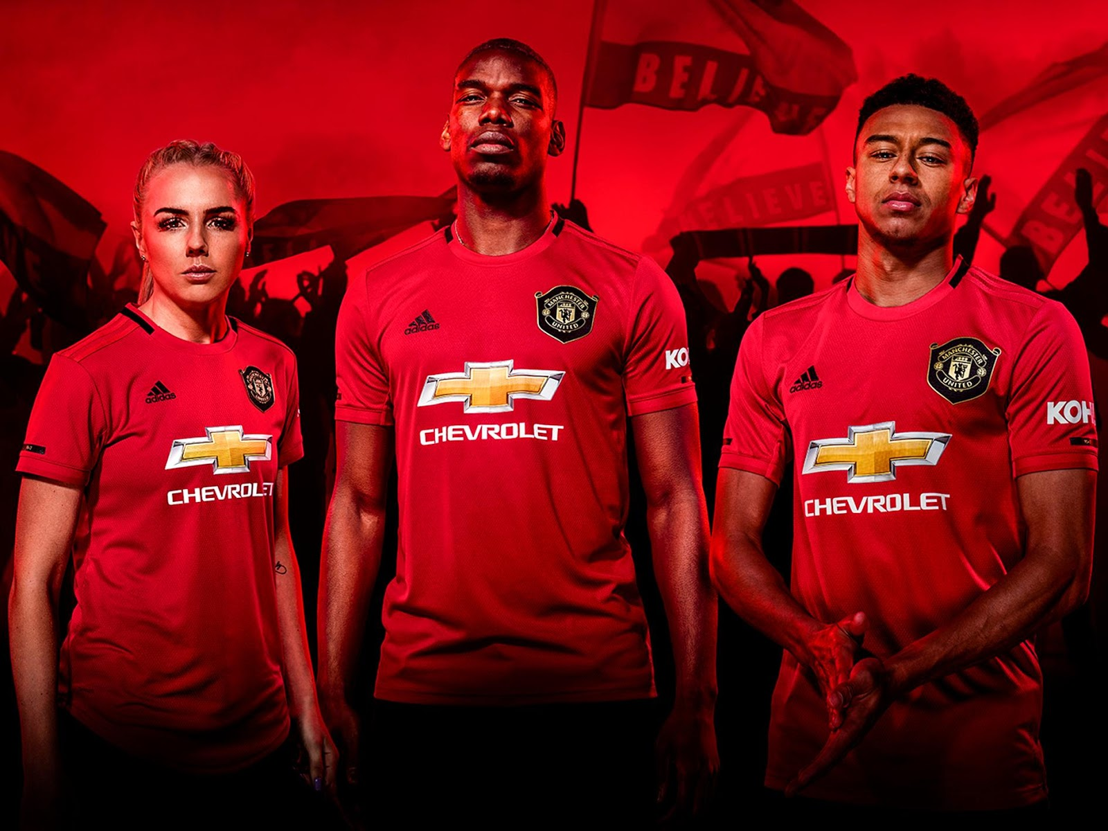Kit Home Manchester United Diperkenalkan Bagi Musim 2019 2020