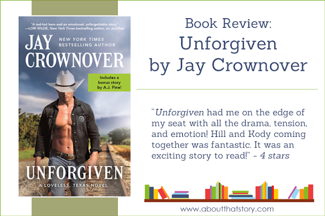 Book Review: Unforgiven by Jay Crownover | About That Story