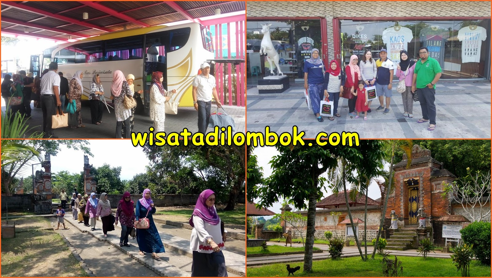 Gambar Paket Wisata Lombok – City Tour Hari Ke Tiga