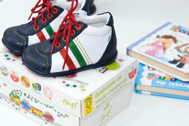Emel buty ze skóry naturalnej dla dzieci