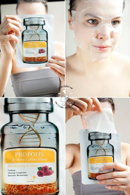 koreańska maseczka na bawełnianym płacie k-beauty kosmetyki koreańskie azjatyckie pielęgnacja korean skin care