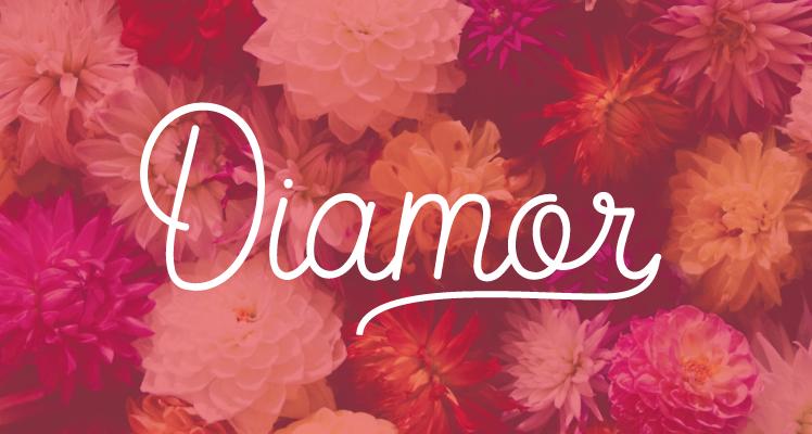 Diamor script Font Preview