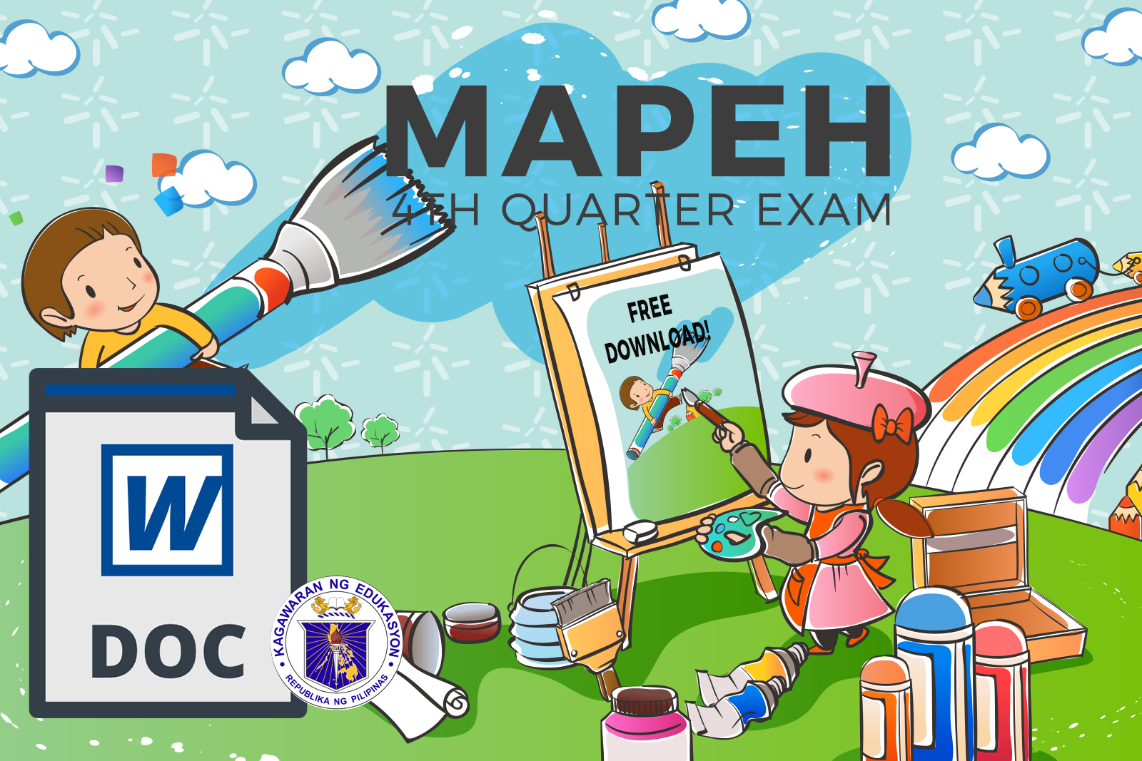 Mapeh 5 4th Quarter Examination