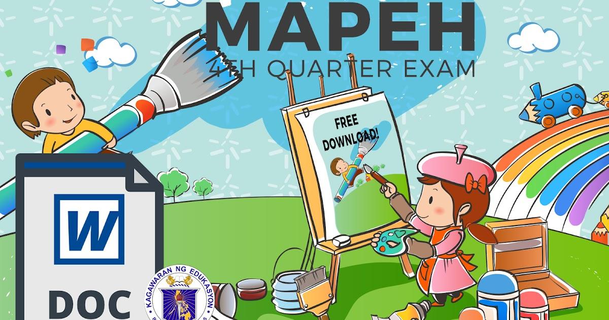 Mapeh - Custom paper Sample