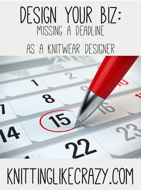 Missing a Deadline as a Knitwear Designer