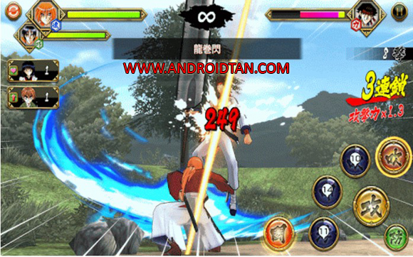 Rurouni Kenshin – Meiji Kenkaku Romantan Mod Apk Free Download