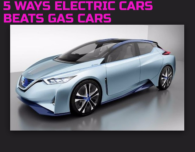 Do Know That Electric Cars Do Outperform Gas-Powered Cars In Certain Areas?