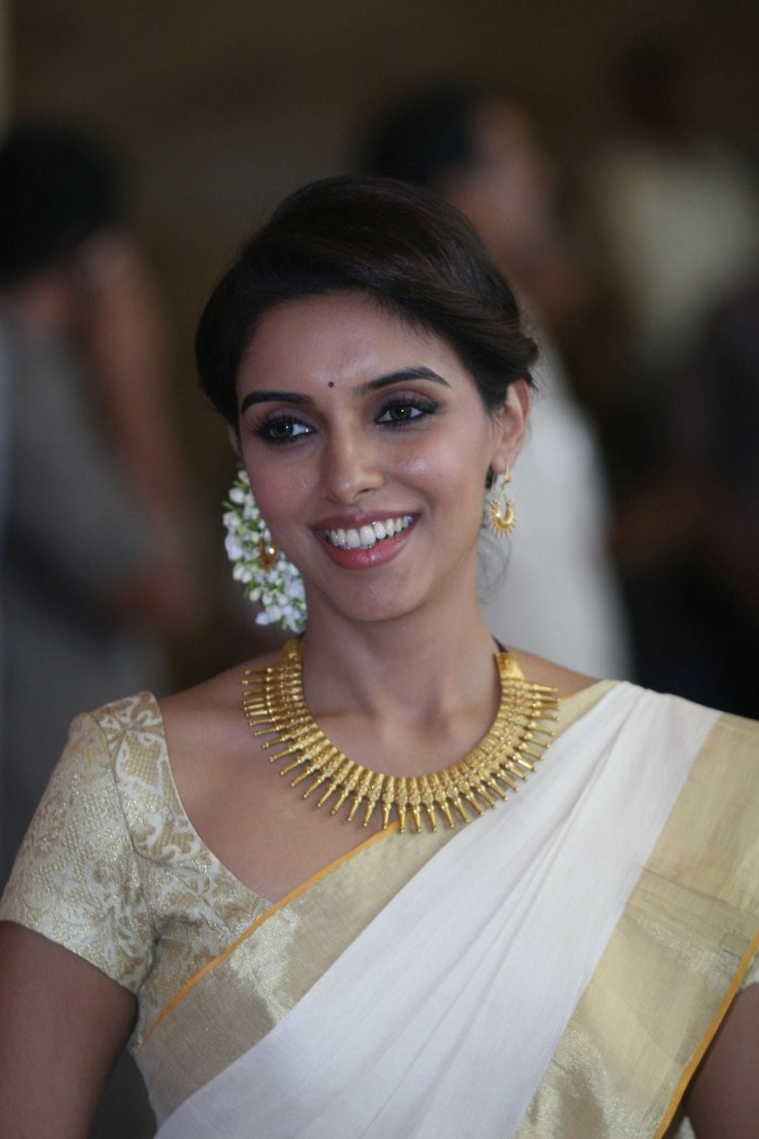 Indian Filmys Celebrities Photos Aasin New Traditional Look-3418