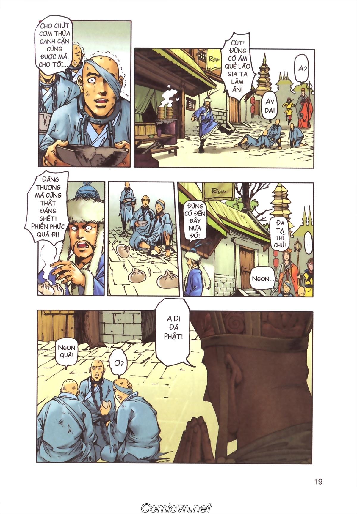 Tây Du Ký màu - Chapter 110 - Pic 17
