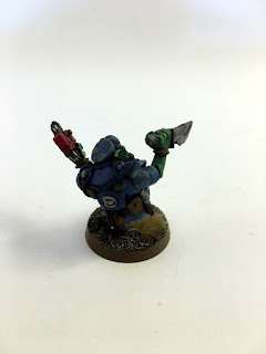 2nd Edition Orks - Bloodaxe Madboy 1 - Back