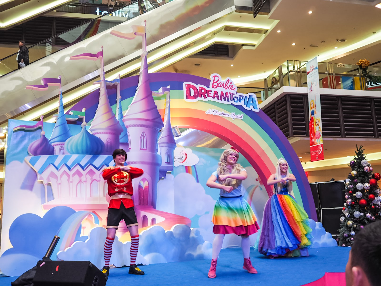 Celebrate Christmas At Paradigm Mall With The First Barbie