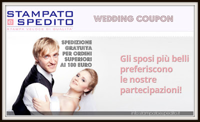 coupon matrimonio sconto