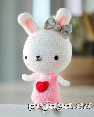 Amigurumi Little Bunny-Free Pattern