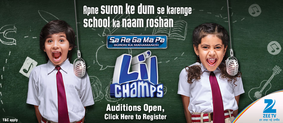 Sa Re Ga Ma Pa L'il Champs Reality Show on Zee TV wiki, Contestants List, judges, starting date, Sa Re Ga Ma Pa L'il Champs host, timing, promos, winner list. Sa Re Ga Ma Pa L'il Champs 2016 Auditions & Registration Details