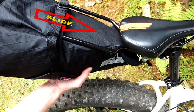 Arkel Seatpacker 9 Bikepacking Fatbike Install