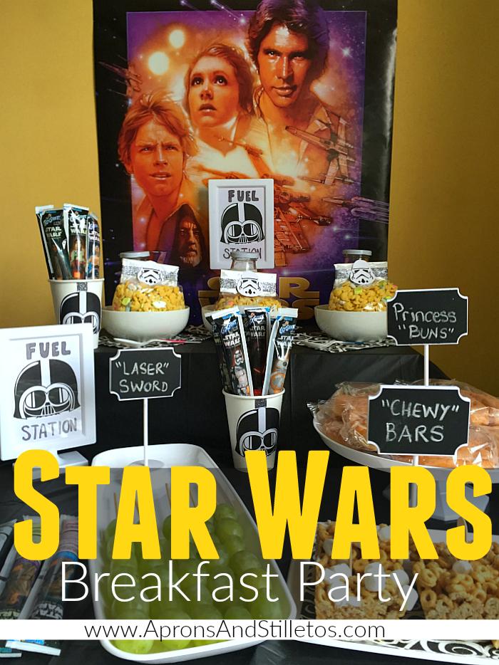 Star Wars™ Breakfast Party Plan