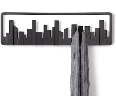 City Skyline Coat Hooks