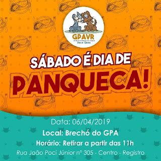 GPA convida para Happy Hour com talharim e música ao vivo na sexta 05/04, em prol do resgate dos cães de Cananeia