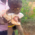 10 Month Old Baby Old Baby Girl Buried By Her Mother Alive Rescued In Ghana
