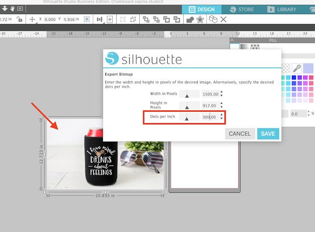 DPI, silhouette studio, silhouette business edition, custom DPI, Silhouette Studio Software tutorials