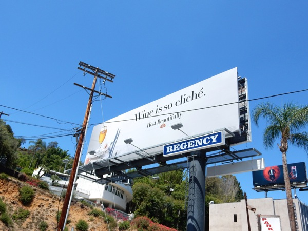 Stella Artois Wine so cliché billboard