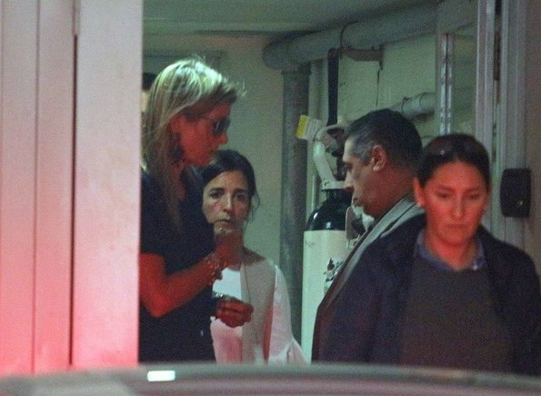 Queen Maxima visited her father Jorge Zorreguieta at a hospital, who is undergoing a medical treatment because of a disease
