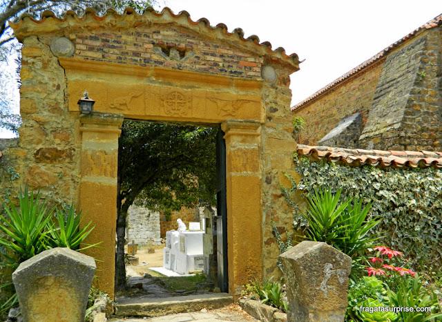 Cemitério do Mosteiro Ecce Homo, Villa de Leyva, Colômbia