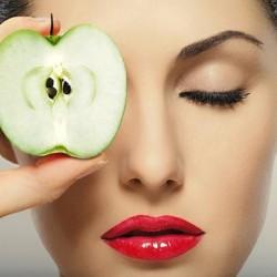 ماسك التفاح لعلاج مشكلات البشره