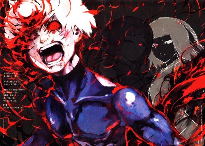Kenapa Kaneki lebih kuat dari Kurona dan Nashiro padahal sama-sama ghoul bermata satu???