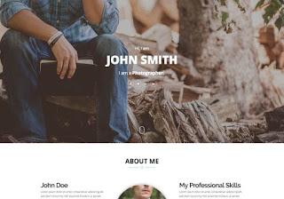 kişisel portföy sitesi